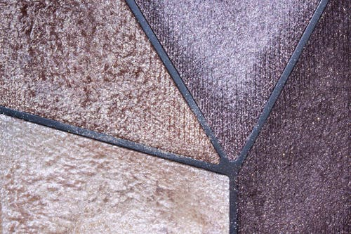 Brown and Purple Textile