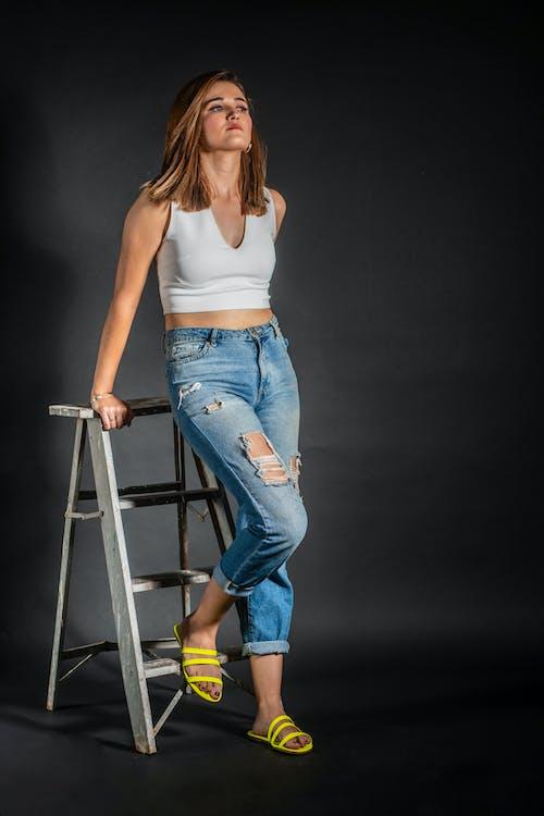 Free stock photo of #Modelos, ladder, photoshop