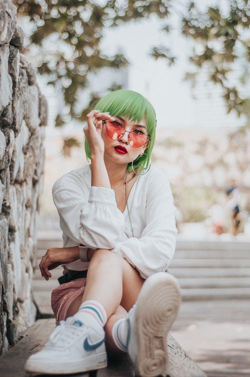 Ingyenes stockfotó aranyos, arckifejezés, ázsiai lány, ázsiai nő témában