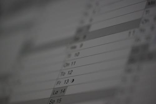 Ilmainen kuvapankkikuva tunnisteilla aika, Kalenteri, lappu, muistutus