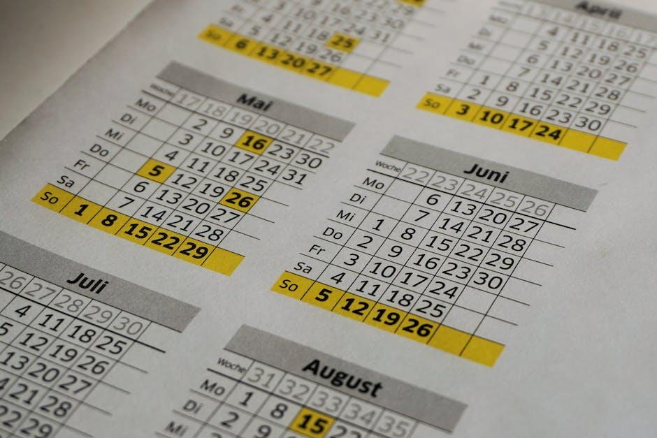 Radio advertising effectiveness - calendar