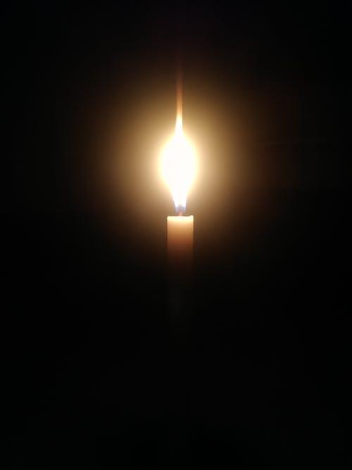 Immagine gratuita di candela, fiamma, fuoco
