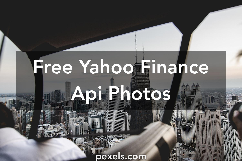 500+ Engaging Yahoo Finance Api Photos · Pexels · Free Stock