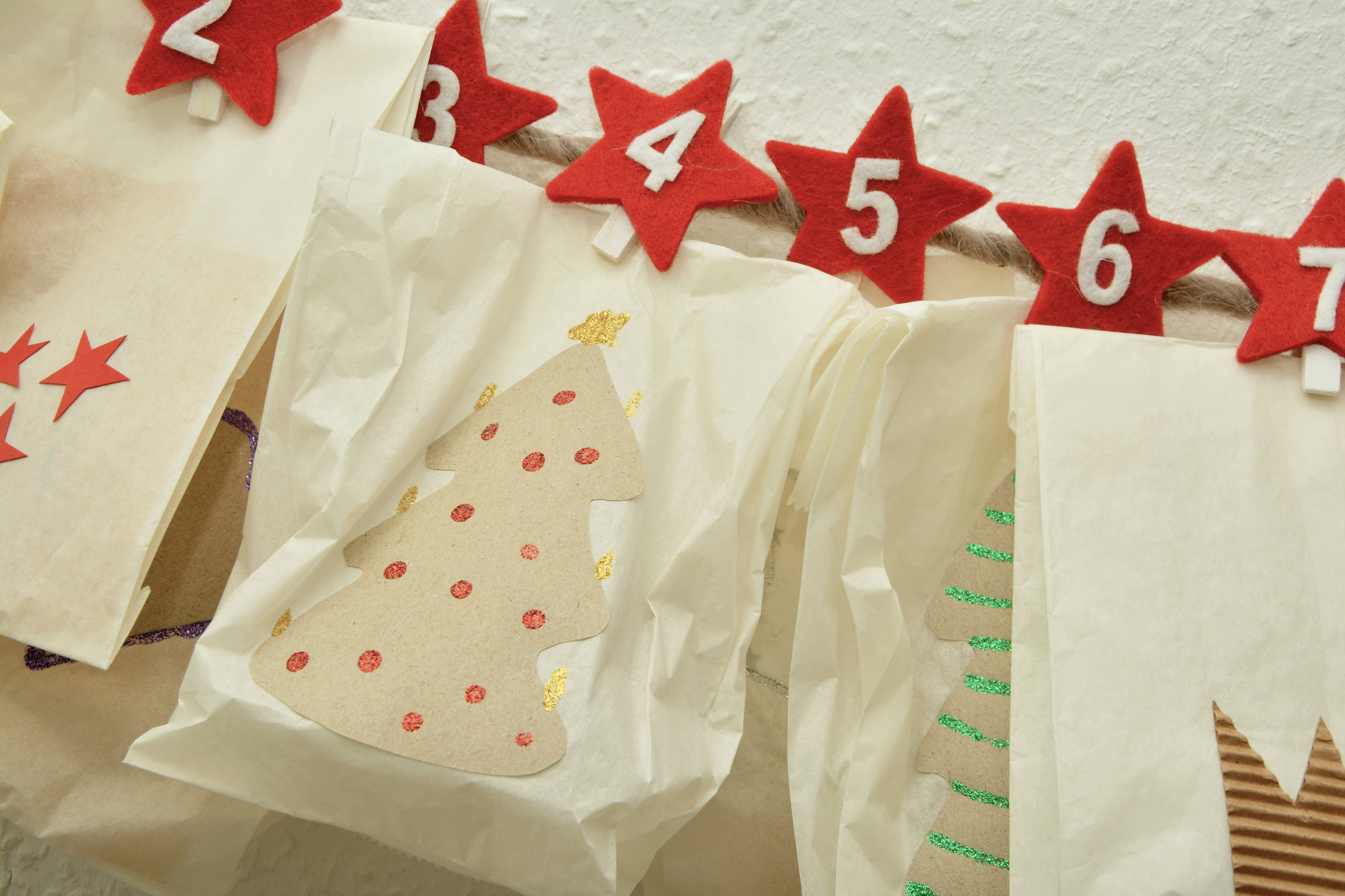 Free stock photo of red, christmas, advent, homemade