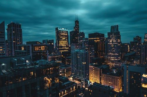 คลังภาพถ่ายฟรี ของ คึกคัก, ชิคาโก, ตอนต้น, ตอนเช้า