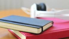 desk, notebook, office