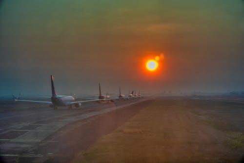インドネシア, フライト, 交通手段, 交通機関の無料の写真素材