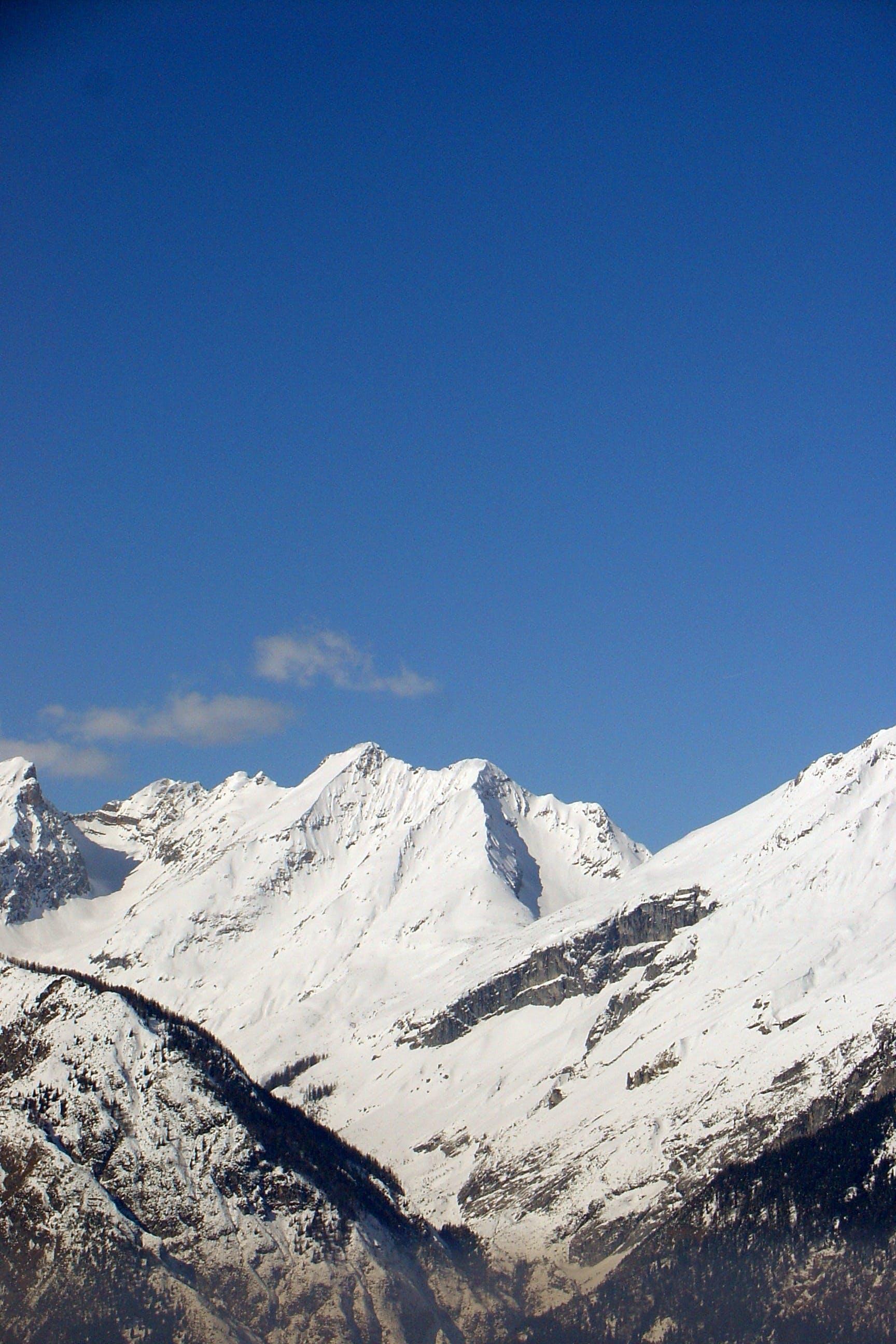 Free stock photo of snow, mountains, winter, mountain