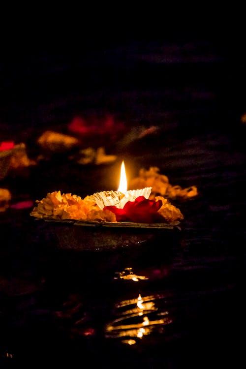 インド, インドの祭り, カルチャー, キャンドルの無料の写真素材