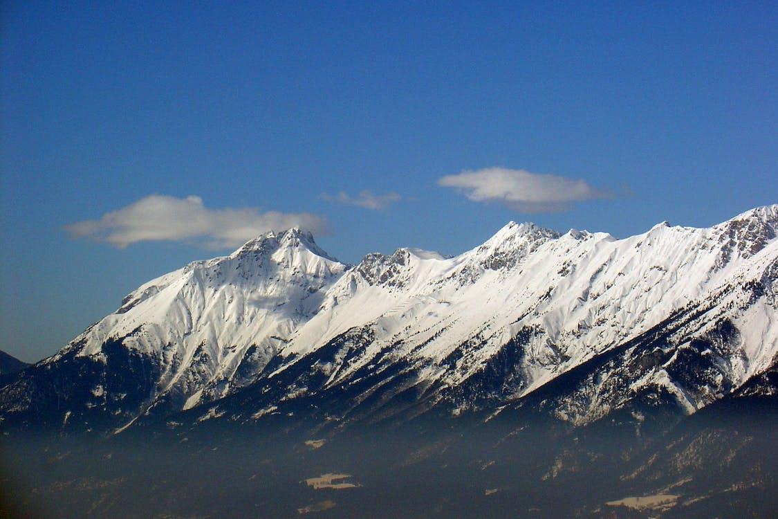alpin, äventyr, berg