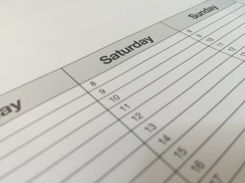 Ilmainen kuvapankkikuva tunnisteilla agenda, aika, järjestykseen, Kalenteri