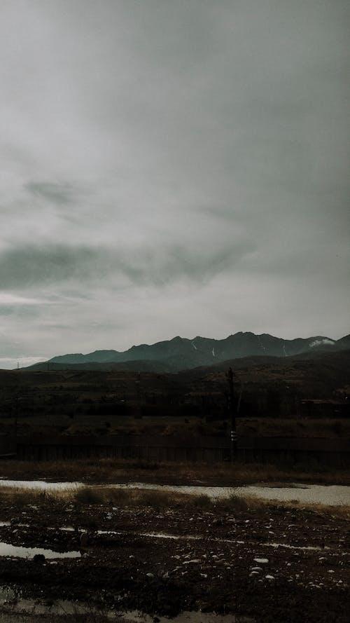 Gratis stockfoto met achtergrond, behang, berg, hemel