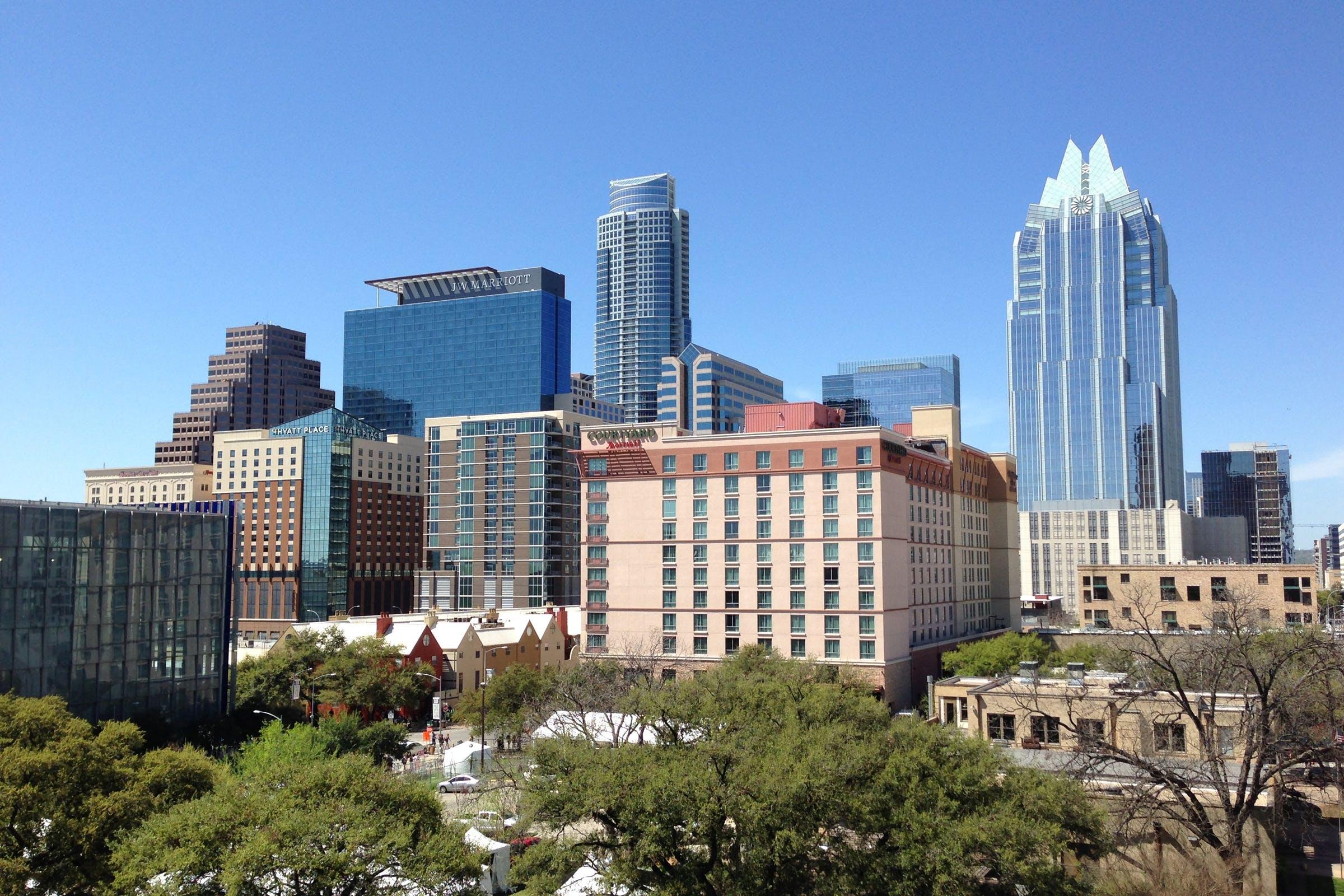 Kostenloses Stock Foto zu amerika, architektur, austin, austin, texas