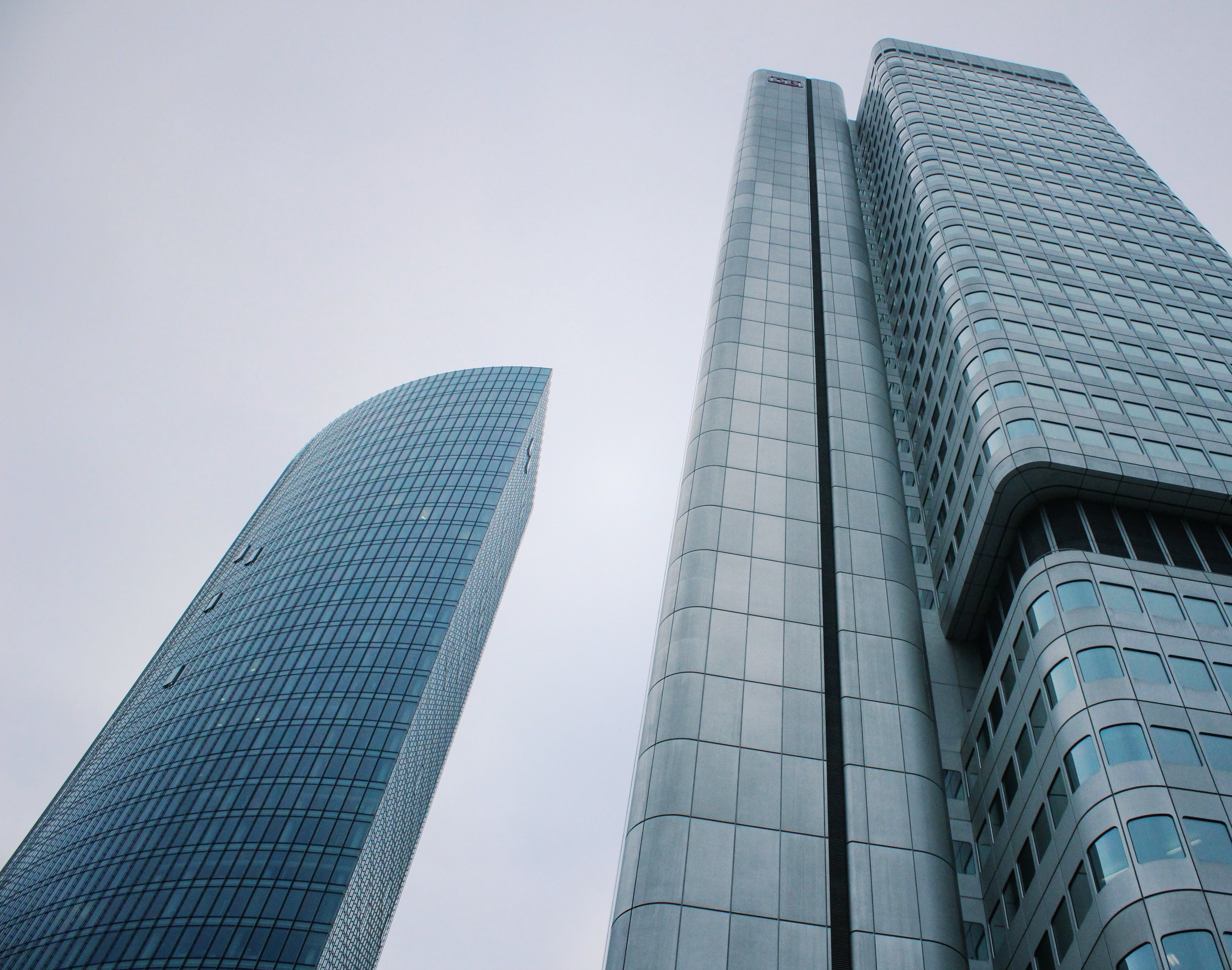 Low-angle Photography of Concrete Buildings