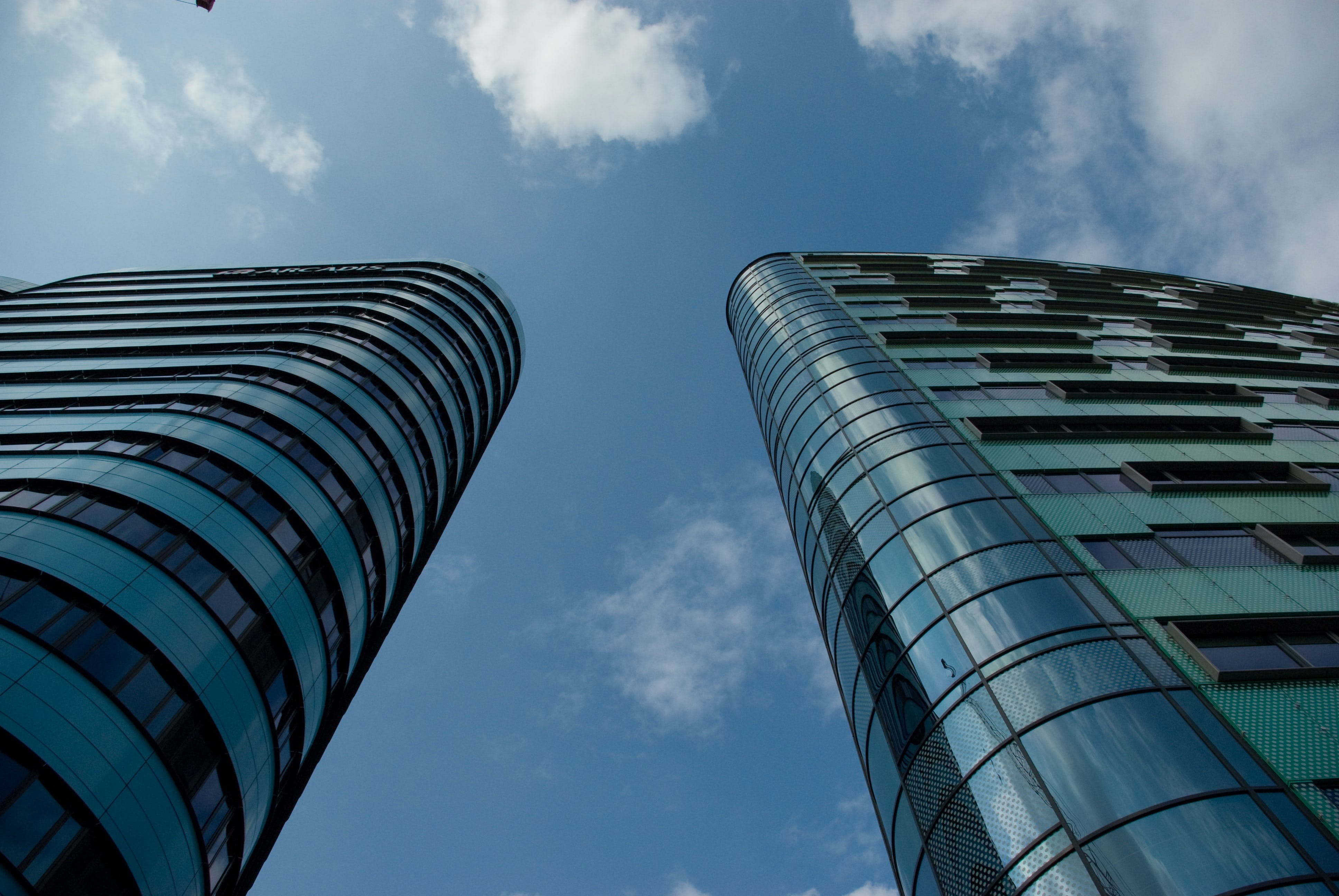 architecture, blue sky, buildings
