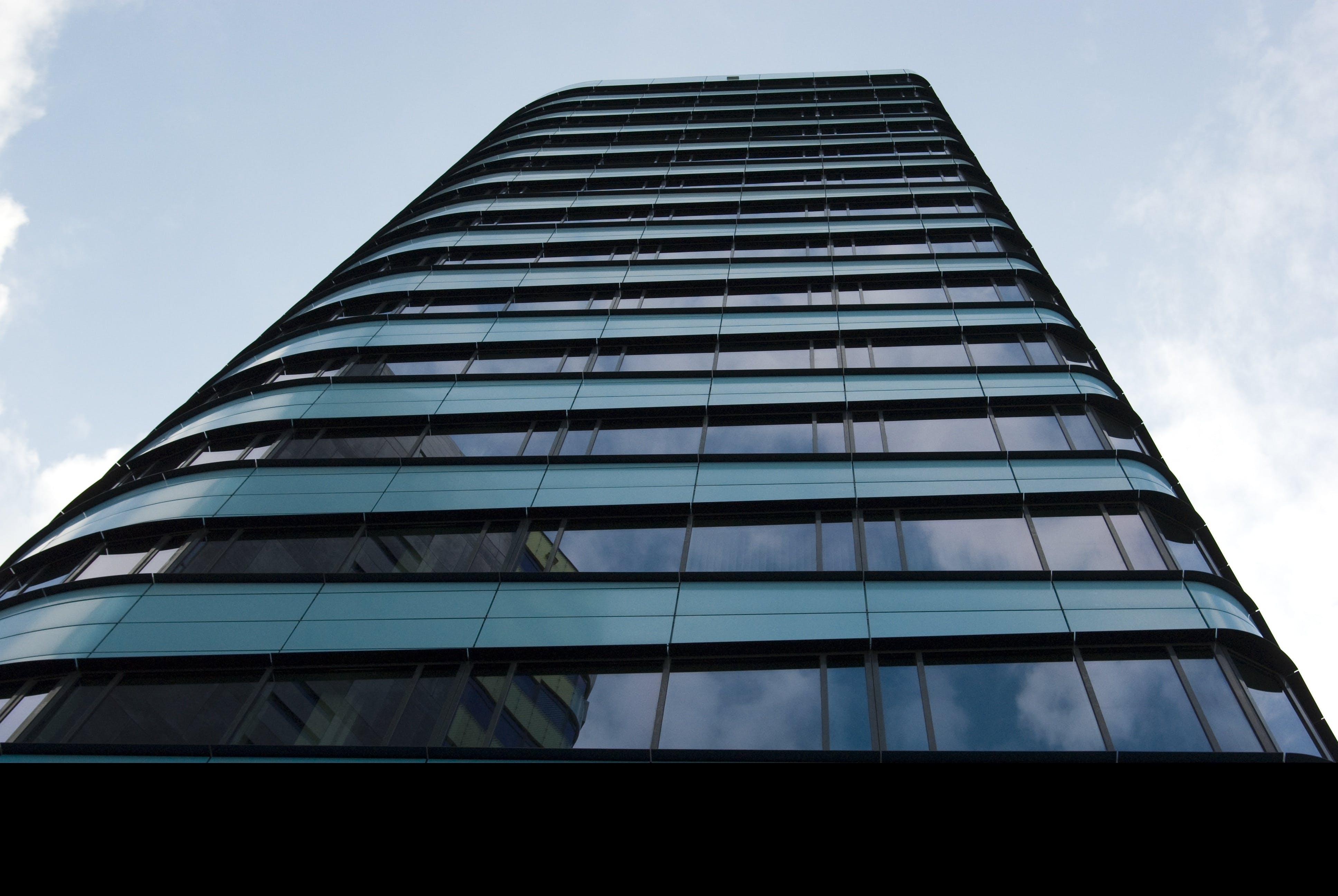 architecture, blue, building