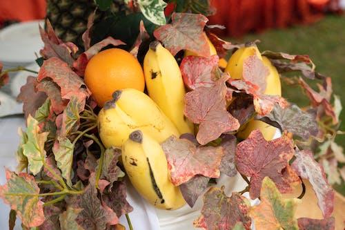 Photos gratuites de bananes, jus d'orange