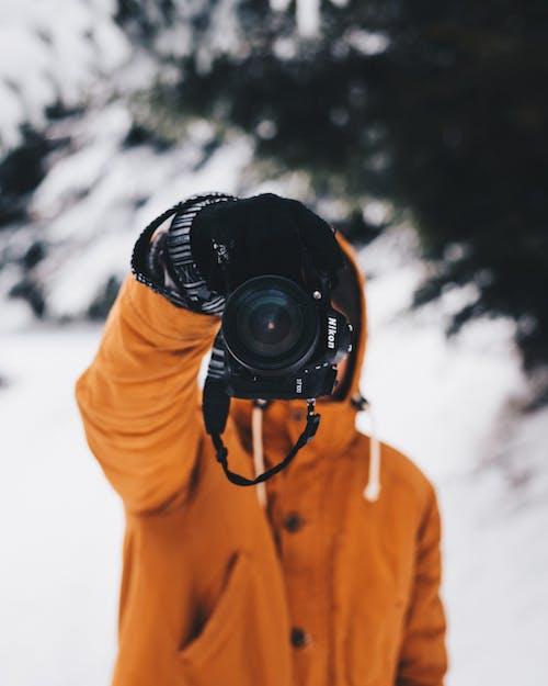 Foto profissional grátis de câmera, fotografando, macro, Nikon