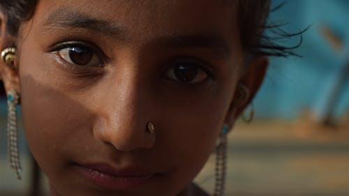 Free stock photo of india, indian girl, kutch, portrait