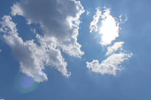 Free stock photo of clouds, cloudy skies, cloudy sky, sun behind clouds