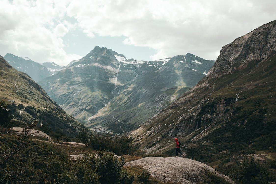 HD-обои, горный хребет, горы