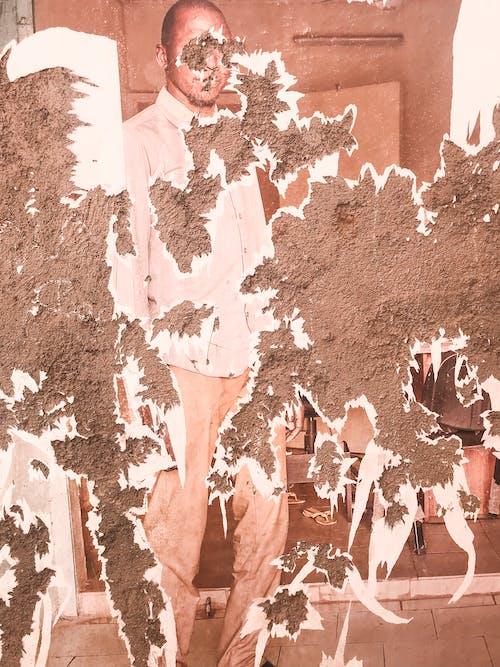 人, 土, 塗鴉, 弄脏 的 免费素材照片