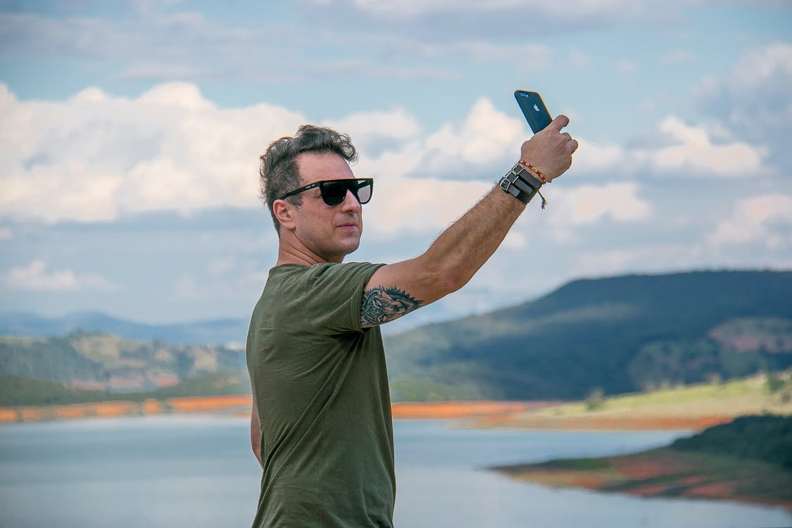 Photo of Person Taking Selfie