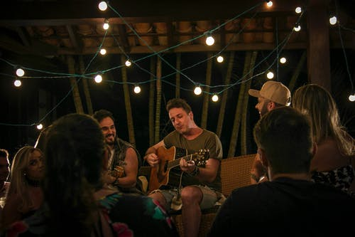 Foto d'estoc gratuïta de clareja, festa, lual, música