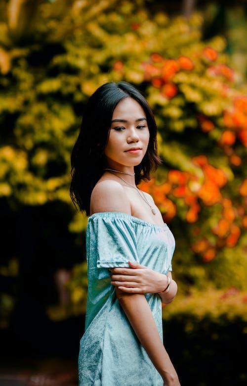 açık hava, aşındırmak, Asyalı kadın, asyalı kız içeren Ücretsiz stok fotoğraf