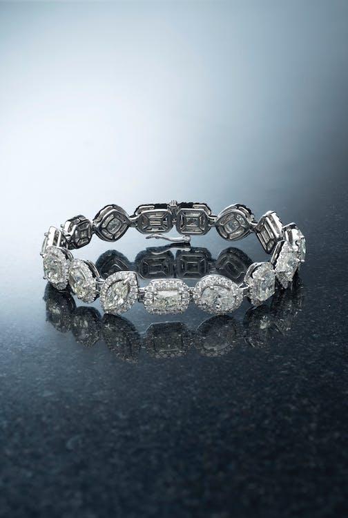diament, diamentowa bransoletka