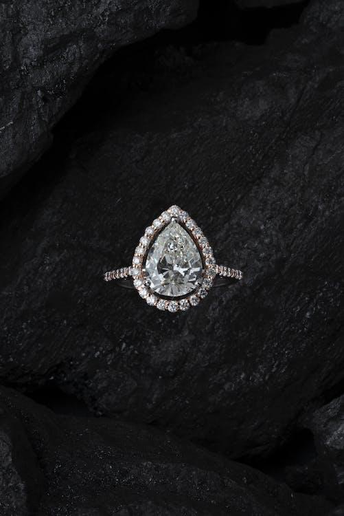 Close-Up Photo of Diamond Ring