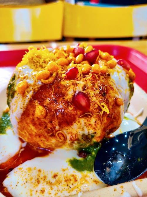 Foto d'estoc gratuïta de fotografia d'aliments, Índia, menjar indi