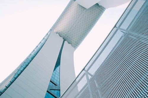 ローアングルショット, 外観, 屋外, 建物の外観の無料の写真素材