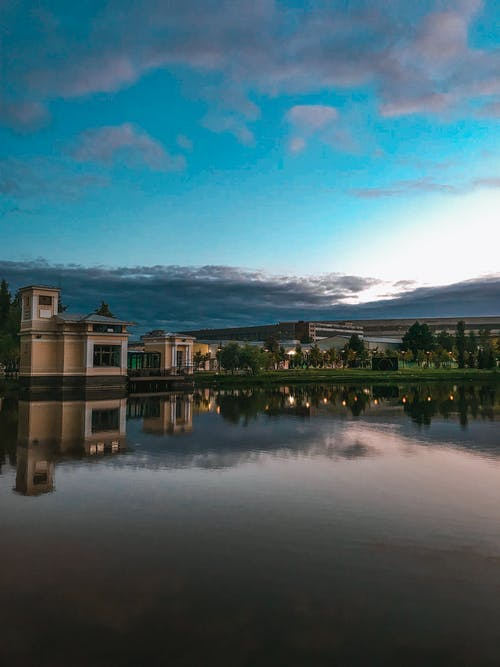 Безкоштовне стокове фото на тему «місто, озеро, Природа»