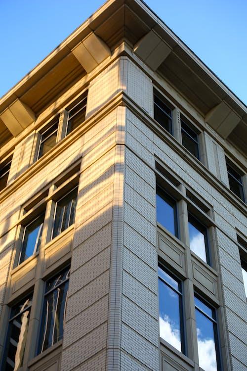 低角度拍攝, 公寓, 反射