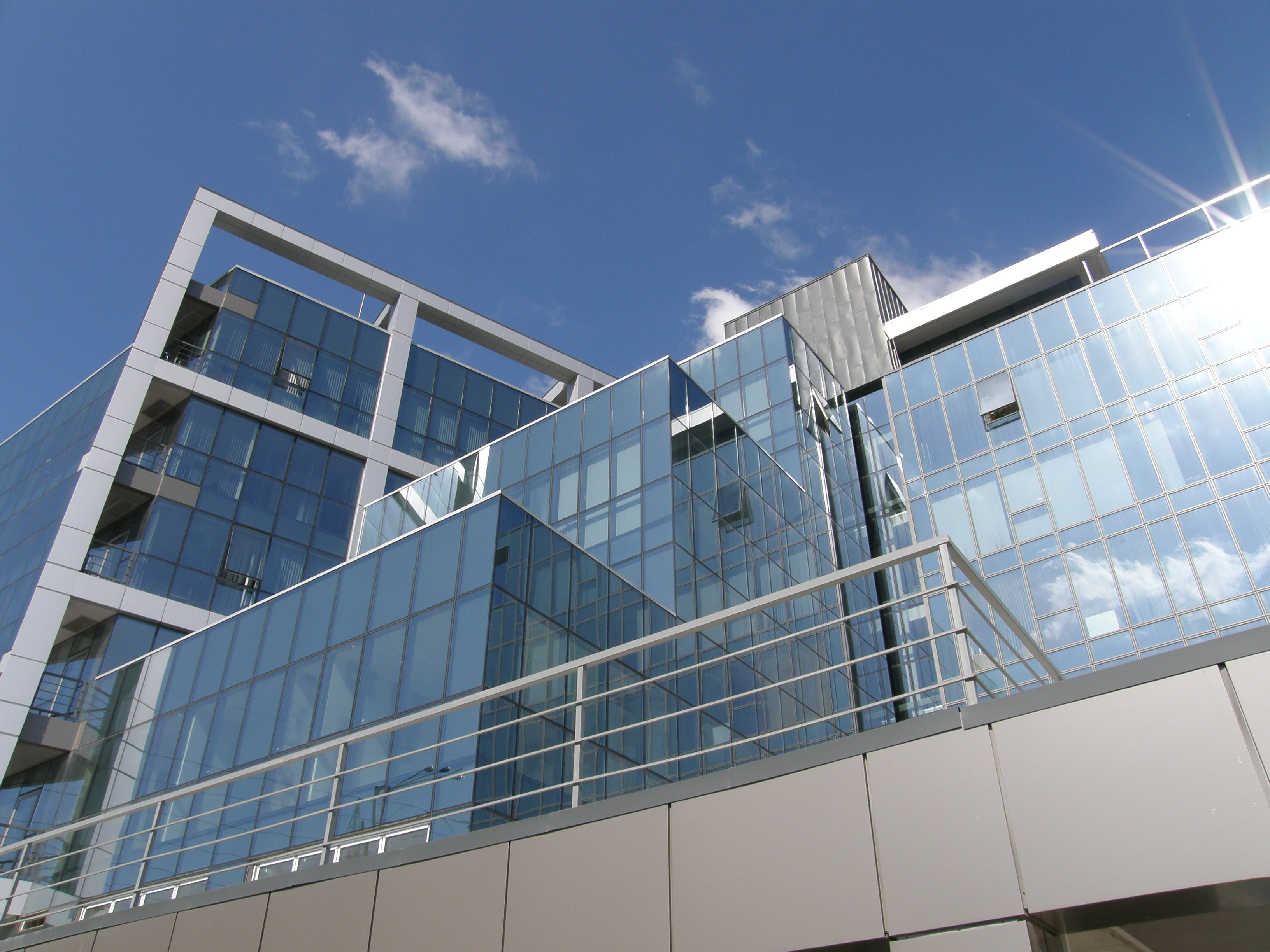 Free stock photo of building, glass, architecture, modern