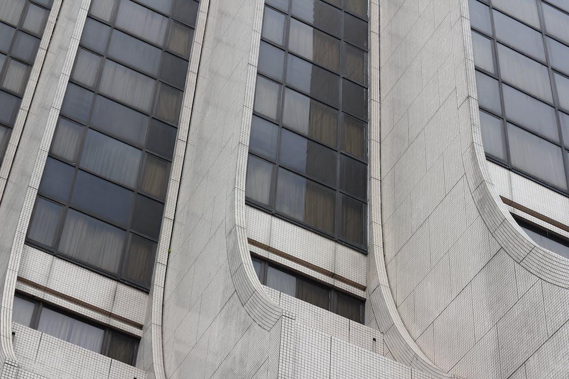 arquitetura, arranha-céu, construção