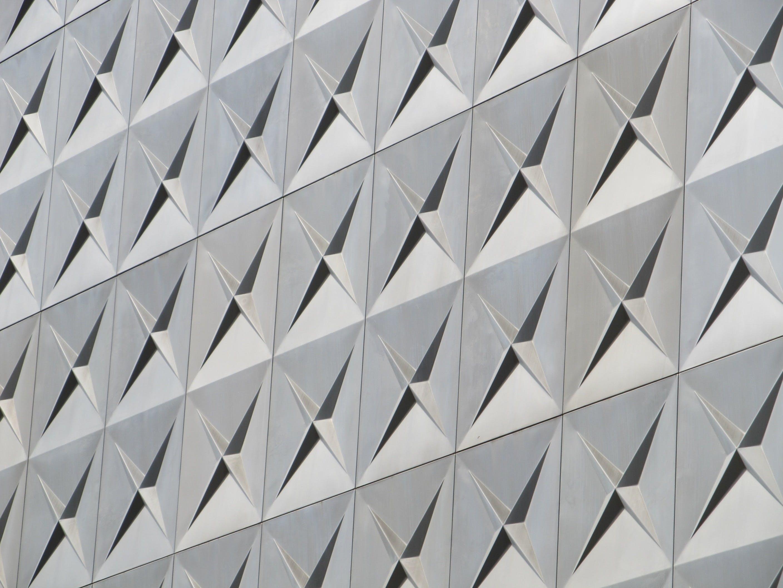 Kostenloses Stock Foto zu abstrakt, aluminium, architektonisch, architektur
