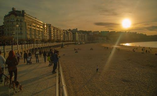 Free stock photo of beach, playa, san sebastian