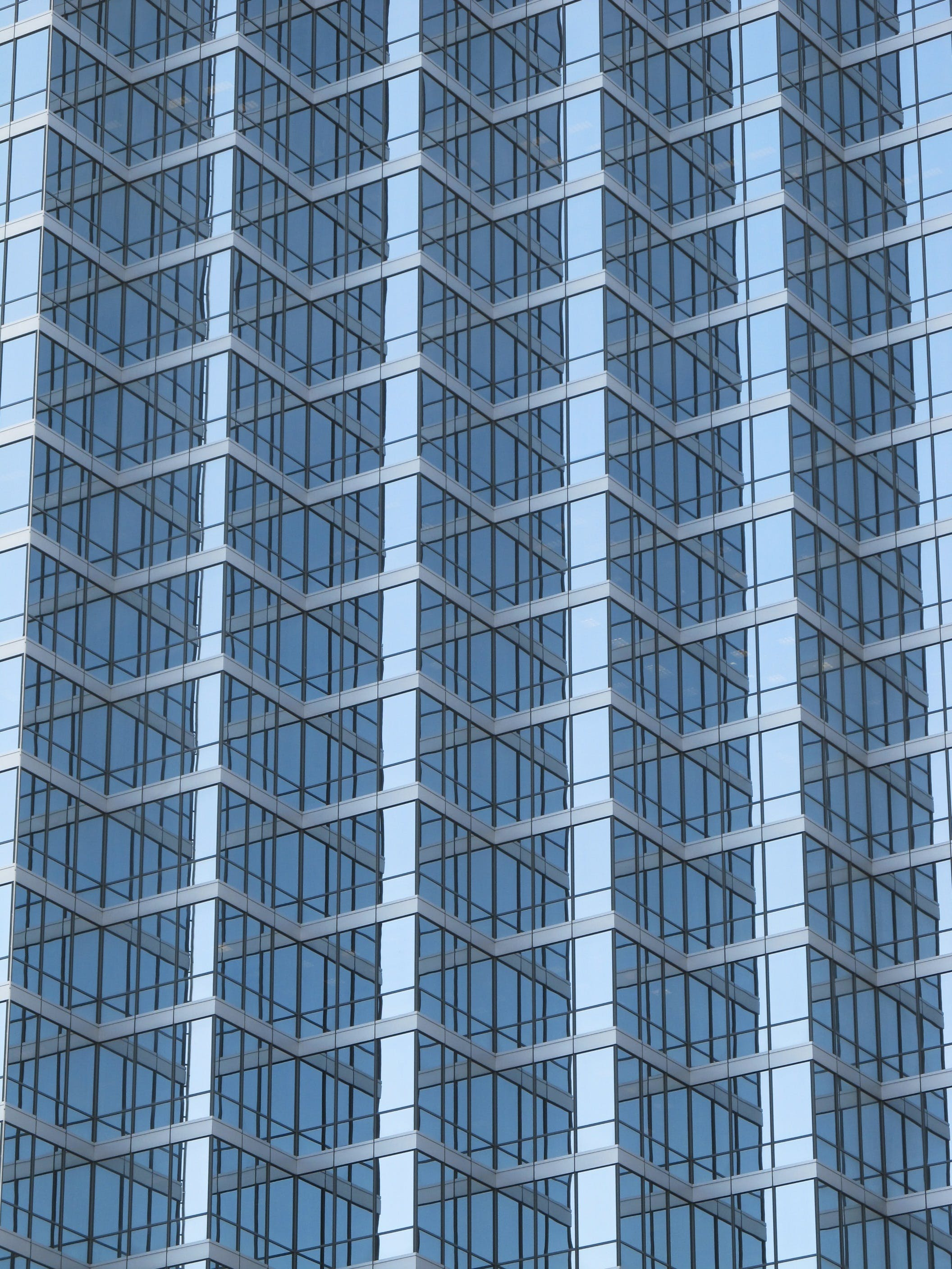 Blue Laminated Glass Building