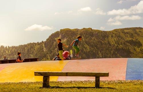 Бесплатное стоковое фото с Австрия, веселье, дети, игровая площадка