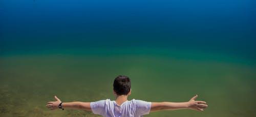 Бесплатное стоковое фото с голубой, голубой, композиция, композиция