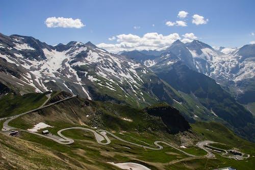 Бесплатное стоковое фото с Австрия, гора, дорога, лед