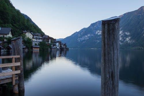 Бесплатное стоковое фото с Австрия, длинная экспозиция, озеро