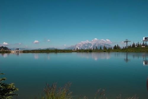 Бесплатное стоковое фото с Австрия, голубой, озеро