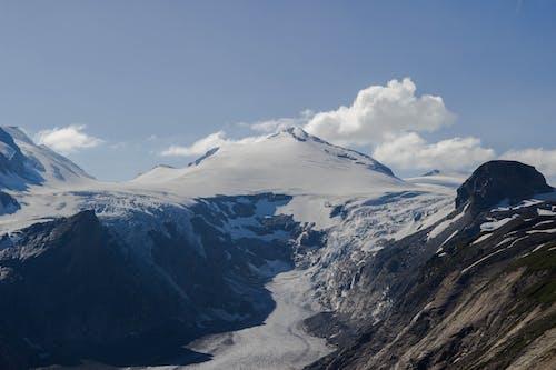 Бесплатное стоковое фото с Австрия, гора, лед, синие горы