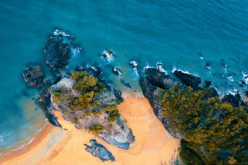 土耳其藍, 山, 岩石, 岸邊 的 免費圖庫相片