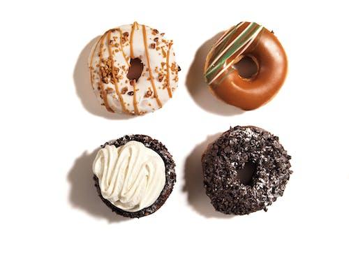 Immagine gratuita di ciambelle, cibo, dolci, indulgenza
