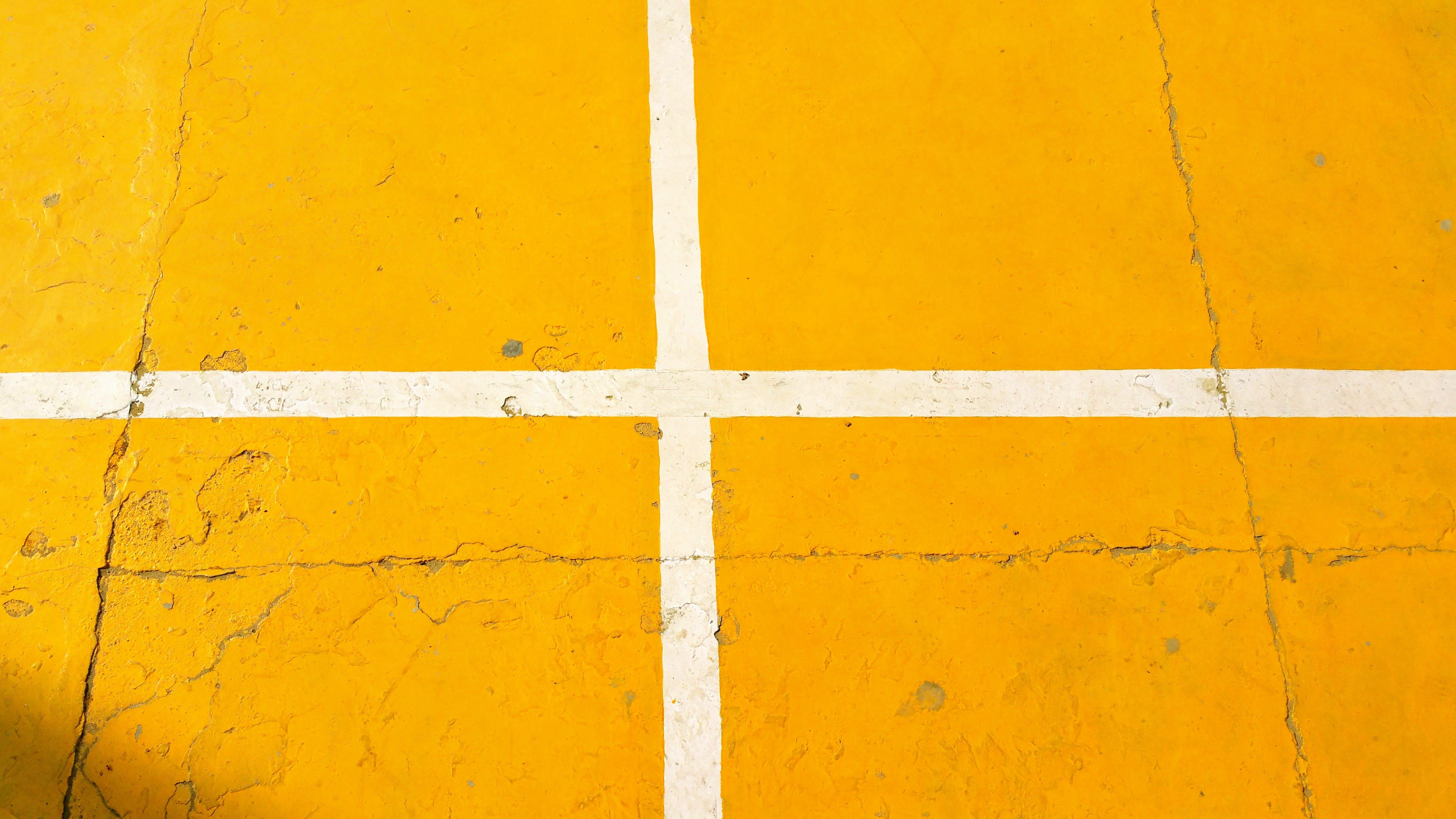 Free stock photo of yellow, game, basketball, court