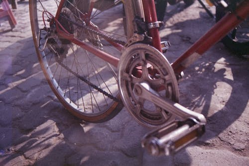 Δωρεάν στοκ φωτογραφιών με vintage, vintage ποδήλατο, αναλογική κάμερα, αναλογικός